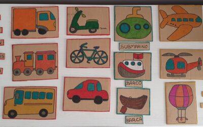 Actividad descargable: Los medios de transporte